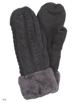 Варежки UFUS. Цвет: серый