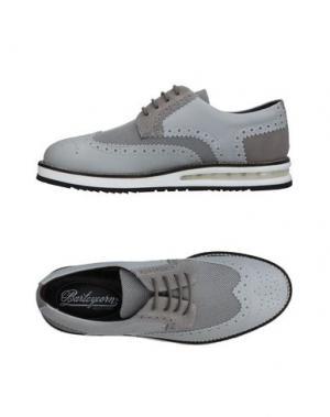 Обувь на шнурках BARLEYCORN. Цвет: светло-серый