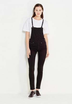 Комбинезон джинсовый G-Star. Цвет: черный