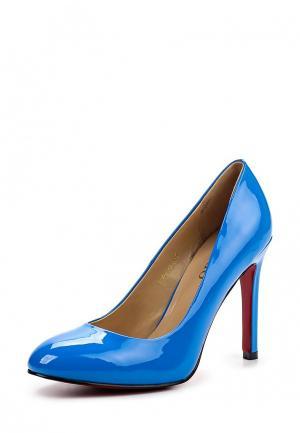 Туфли Inario. Цвет: синий