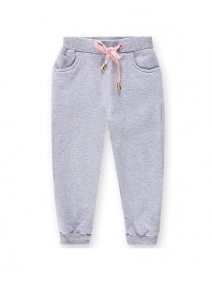 Спортивные брюки De Salitto. Цвет: серый