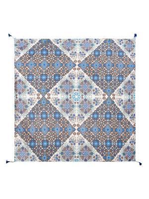 Платок Labbra. Цвет: синий, голубой, серый