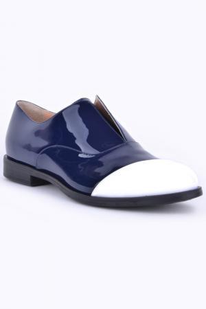 Туфли Marco Barbabella. Цвет: blue and white