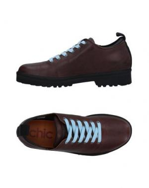 Обувь на шнурках PÀNCHIC. Цвет: темно-коричневый