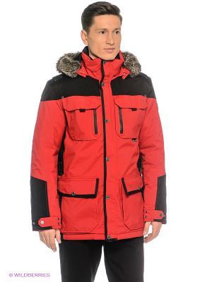Куртка Northland Professional. Цвет: красный