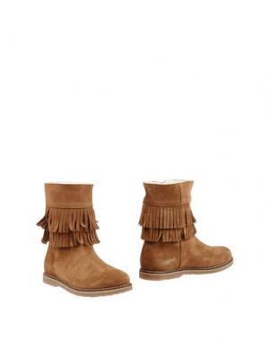 Полусапоги и высокие ботинки LA FEE MARABOUTEE. Цвет: верблюжий