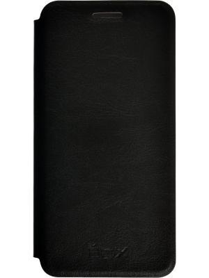 Чехол SkinBox Lux для Samsung Galaxy A3. Цвет: черный