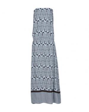 Длинное платье ALYSI. Цвет: небесно-голубой