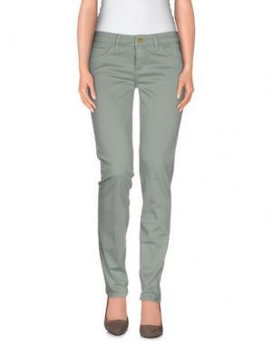 Повседневные брюки REBEL QUEEN. Цвет: светло-зеленый