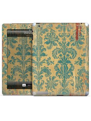 Наклейка для iPad 2,3,4 Winona-Julie Comstock Gelaskins. Цвет: морская волна, коричневый