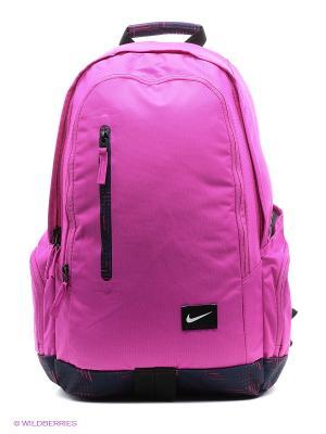 Рюкзак NIKE. Цвет: фиолетовый