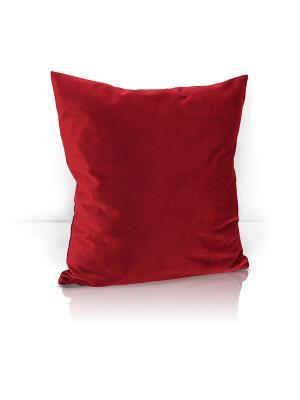 Декоративная подушка Solemare Kauffort. Цвет: красный