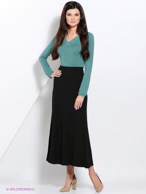 Блузка Valeria Lux. Цвет: зеленый