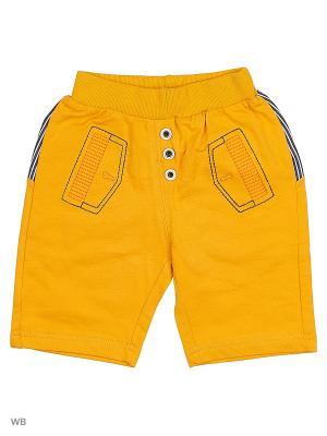 Трикотажные шорты Kidly. Цвет: светло-оранжевый, горчичный