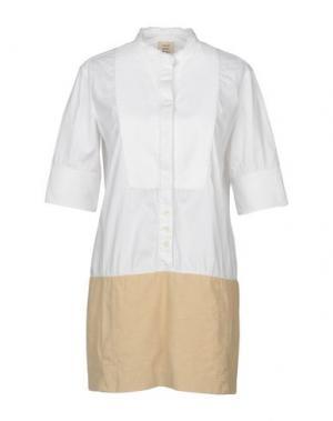 Короткое платье COAST WEBER & AHAUS. Цвет: белый