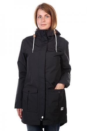 Куртка парка женская  Jetty Parka Black CLWR. Цвет: черный