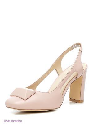 Туфли Calipso. Цвет: бледно-розовый