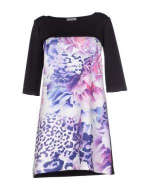 Короткое платье DANIELA FARGION. Цвет: фиолетовый