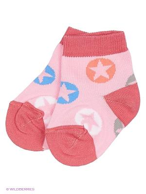 Носки Skinija. Цвет: розовый