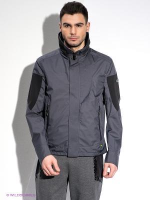 Куртка HUGO BOSS. Цвет: темно-серый