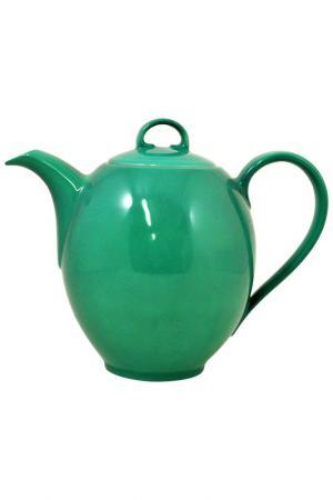 Кофейник KAHLA. Цвет: зеленый