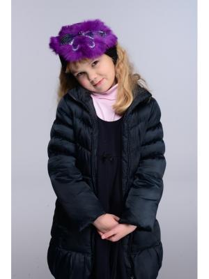 Повязка Lak Miss. Цвет: черный, фиолетовый