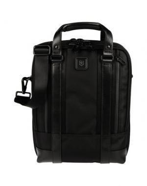 Деловые сумки VICTORINOX. Цвет: черный