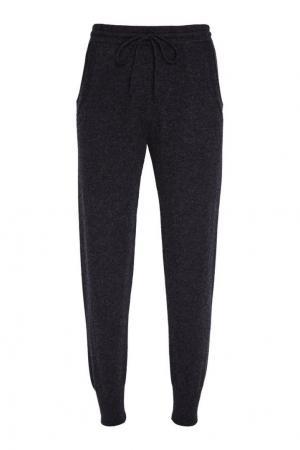 Серые брюки из кашемира Addicted. Цвет: серый