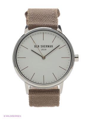 Часы Ben Sherman. Цвет: хаки