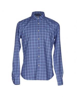 Pубашка CELLINI. Цвет: лазурный