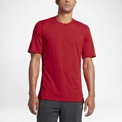 Мужская баскетбольная футболка с коротким рукавом  Elite Nike. Цвет: красный