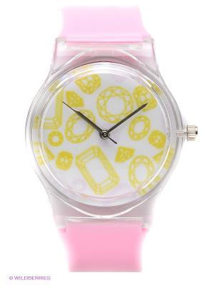 Часы Kawaii Factory. Цвет: розовый