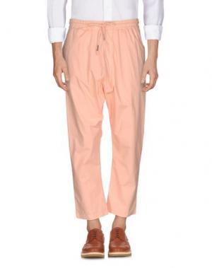Повседневные брюки C.Y.H. CLAP YOUR HAND. Цвет: лососево-розовый