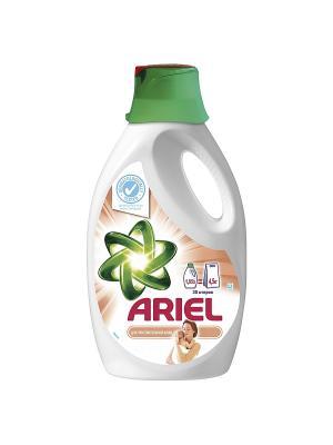 Жидкий стиральный порошок Для чувствительной кожи 1.95л Ariel. Цвет: белый, зеленый