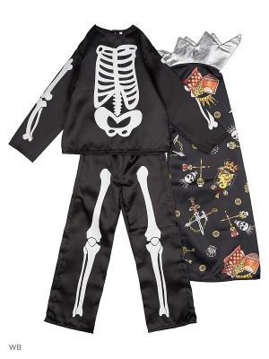 Карнавальный костюм Кащей Бессмертный сказочный Батик. Цвет: черный