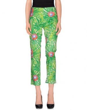 Повседневные брюки JO NO FUI. Цвет: зеленый