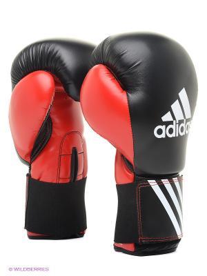 Перчатки боксерские Response Adidas. Цвет: черный
