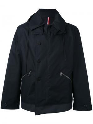 Легкая куртка-дождевик Moncler. Цвет: синий