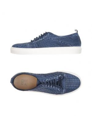 Низкие кеды и кроссовки YAB. Цвет: темно-синий