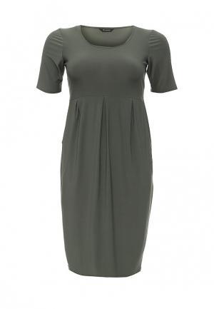 Платье Evans. Цвет: зеленый