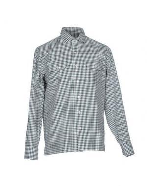 Pубашка SALVATORE PICCOLO. Цвет: зеленый