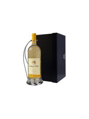 Подставка д/бутылки Виноград + футляр АргентА. Цвет: серебристый