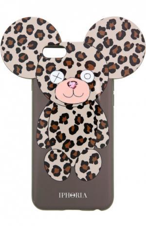 Чехол для iPhone 6 с медведем Iphoria. Цвет: разноцветный