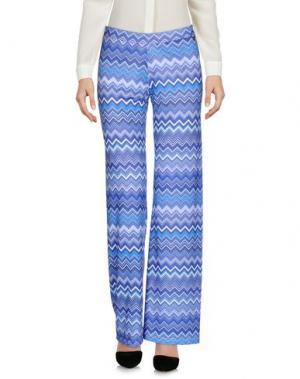 Повседневные брюки JUST FOR YOU. Цвет: синий