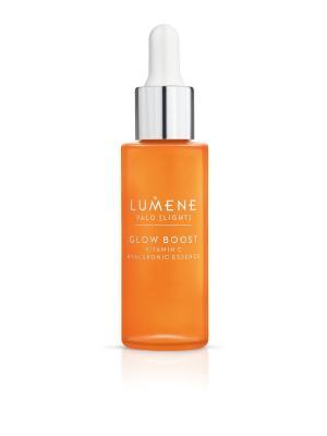 Придающая сияние гиалуроновая эссенция Valo Vitamin C Lumene. Цвет: белый