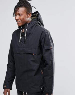 Dickies Куртка через голову. Цвет: черный