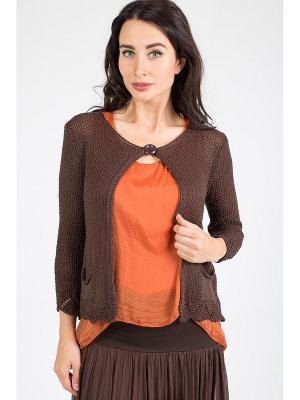 Блуза Amado Barcelona. Цвет: коричневый