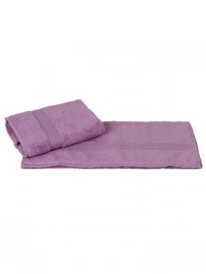 Махровое полотенце 50x90 FIRUZE фиолетовое,100% хлопок HOBBY HOME COLLECTION. Цвет: фиолетовый