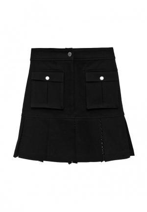 Юбка Karl Lagerfeld. Цвет: черный