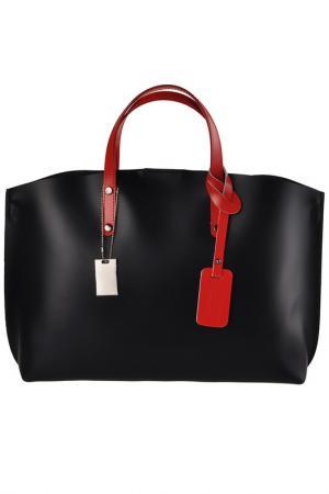 Сумка FLORENCE BAGS. Цвет: black, red